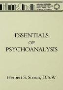 Essentials Of Psychoanalysis
