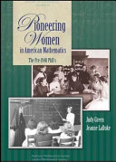 Pdf Pioneering Women in American Mathematics Telecharger