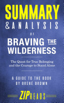 Summary & Analysis of Braving the Wilderness Pdf/ePub eBook