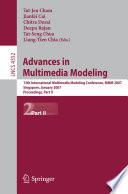 Advances in Multimedia Modeling