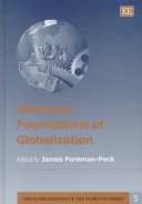 Historical Foundations of Globalization