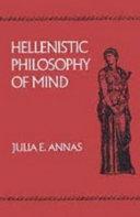 Hellenistic Philosophy of Mind Pdf/ePub eBook