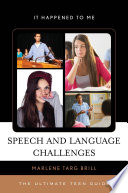 Speech and Language Challenges Book