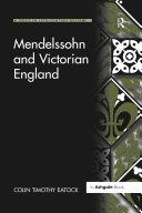Mendelssohn and Victorian England [Pdf/ePub] eBook