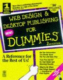 Web Design   Desktop Publishing for Dummies