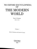 The Oxford Encyclopedia of the Modern World Book