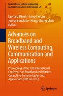 Advances on Broadband and Wireless Computing  Communication and Applications