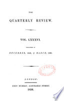 The Quarterly Review  London  Book