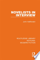 Novelists in Interview Book PDF