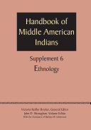Supplement to the Handbook of Middle American Indians, Volume 6