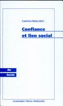 Confiance et lien social