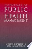 Essentials Of Public Health Management Book PDF