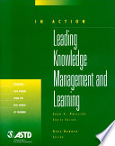 Leading Knowledge Management and Learning