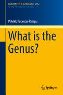 What is the Genus?