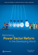 Pdf Rethinking Power Sector Reform in the Developing World Telecharger