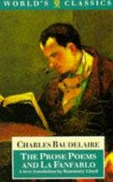 The Prose Poems and La Fanfarlo