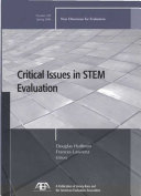 Critical Issues in STEM Evaluation