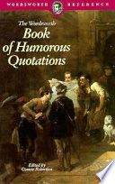 Read Online Book of Humorous Quotations For Free