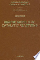 Kinetic Models of Catalytic Reactions Book