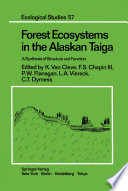 Forest Ecosystems in the Alaskan Taiga Book