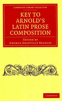 Key to Arnold s Latin Prose Composition