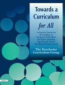 Towards a Curriculum for All