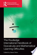 The Routledge International Handbook of Dyscalculia and Mathematical Learning Difficulties Book