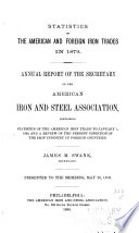 Statistics of the American and Foreign Iron Trades     Book
