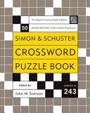 Simon and Schuster Crossword Puzzle Book  243