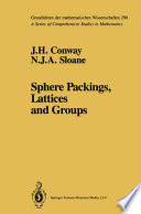 Sphere Packings, Lattices and Groups