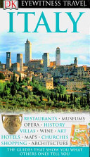 image of book cover of Italy travel guide