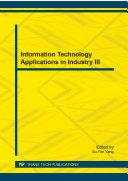 Information Technology Applications in Industry III Pdf/ePub eBook