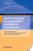 Applied Computing  Computer Science  and Advanced Communication Book