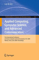 Applied Computing  Computer Science  and Advanced Communication