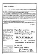 Letters From Prison Political History And Conference Papers
