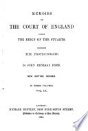 Memoirs of the Court of England During the Reign of the Stuarts Book