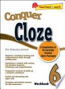 e-Conquer Cloze Workbook 6
