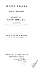 Select Tracts From The Writings Of J H Edited By C Bradley