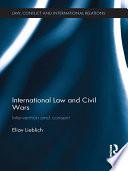 International Law And Civil Wars