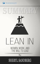 Summary of Lean In