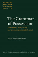 The Grammar of Possession Book