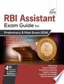Rbi Assistants Exam Guide For Preliminary Main Exam 4th Edition