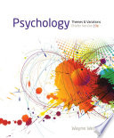 """""""Psychology: Themes and Variations, Briefer Version"""" by Wayne Weiten"""