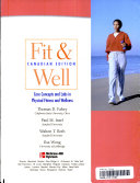 Fit and Well   Core Concepts and Labs in Physical Fitness and Wellness Book