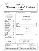 National Theatre Critics  Reviews