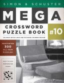 Simon   Schuster Mega Crossword Puzzle Book  10