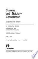 Statutes and Statutory Construction