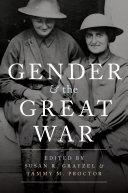 Gender and the Great War Pdf/ePub eBook