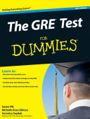 The GRE Test For Dummies
