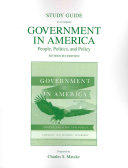 Study Guide for Government in America